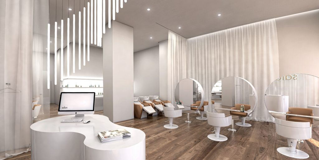 Hair Salon Design - www.cest-design.at
