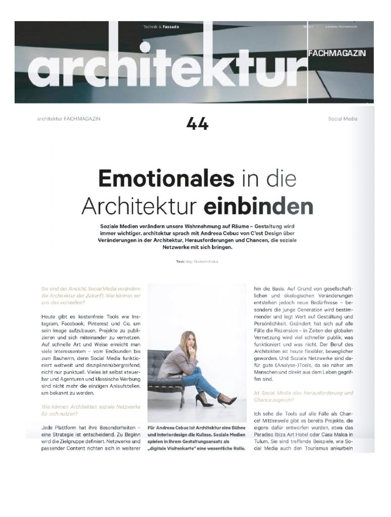 Social Media Architektur - www.cest-design.at