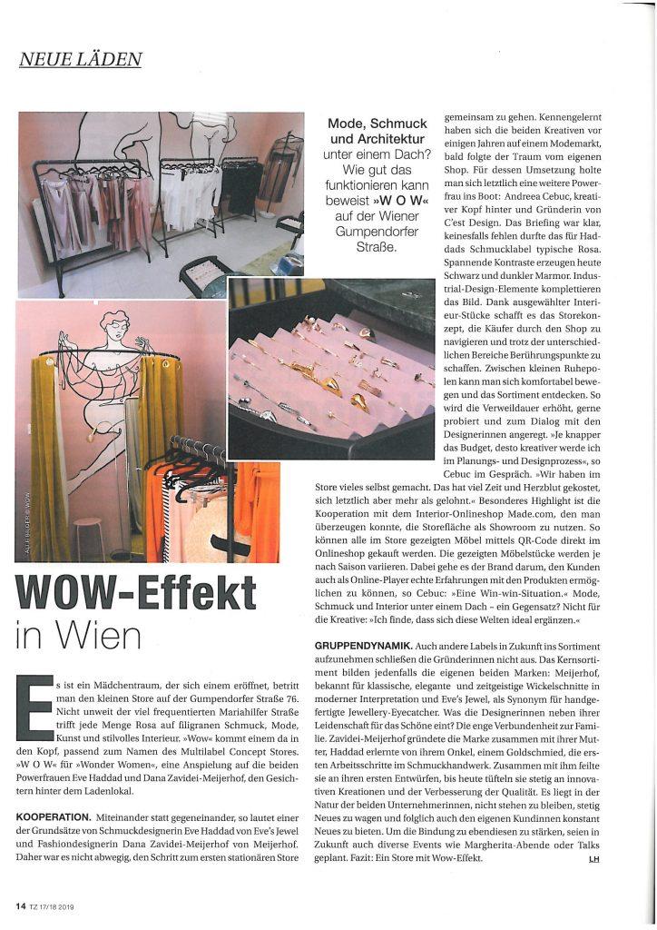 Textilzeitung - www.cest-design.at